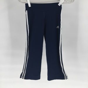 Adidas Yoga Stretch Cropped Pant Small